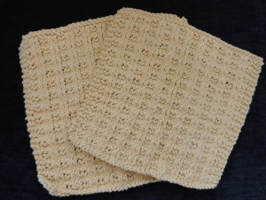Basket Rib Washcloths